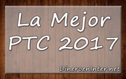 LA MEJOR PTC 2017 (via PAYPAL comprobante de pago)