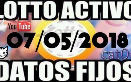 LOTTO ACTIVO DATOS FIJOS PARA GANAR  07/05/2018 cat06