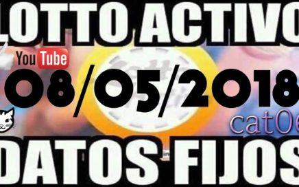 LOTTO ACTIVO DATOS FIJOS PARA GANAR  08/05/2018 cat06