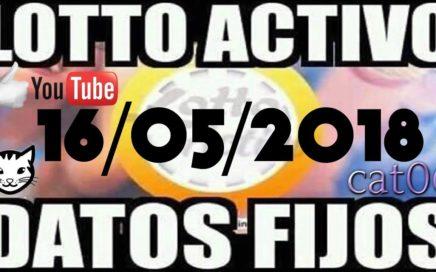 LOTTO ACTIVO DATOS FIJOS PARA GANAR  16/05/2018 cat06
