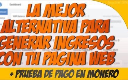 MINERALT.IO : LA MEJOR ALTERNATIVA PARA GENERAR DINERO CON TU PAGINA WEB + PRUEBA DE PAGO EN MONERO