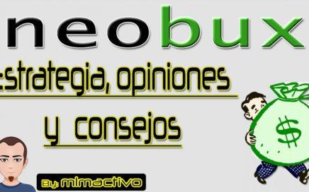 Neobux estrategia opiniones y consejos para ganar dinero con esta Ptc
