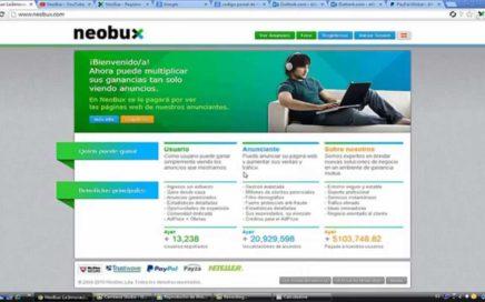 NEOBUX ¿Que es y como funciona?   Crear cuenta en PayPal   Gana Dinero en Internet   Estrategias