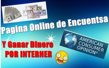 PAGINA DE ENCUENTSA ONLINE-- American Consume Opinion, Ganar Dinero en interne