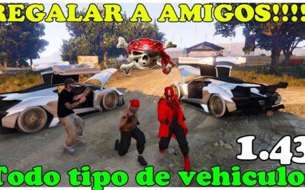 (PARCHEADO)NUEVO TRUCO GTA 5 MUY FÁCIL REGALAR A AMIGOS CUALQUIER VHL PERSONAL  PS4 XBOX PC