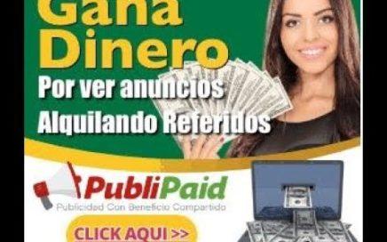 PubliPaid Comienza a Ganar Dinero por Ver Anuncios