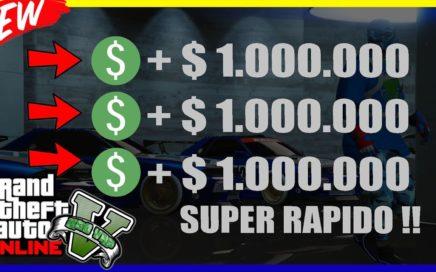"""*SOLO* COMO GANAR MILLONES AL INSTANTE EN """"GTA V ONLINE"""" SUPER RAPIDO"""