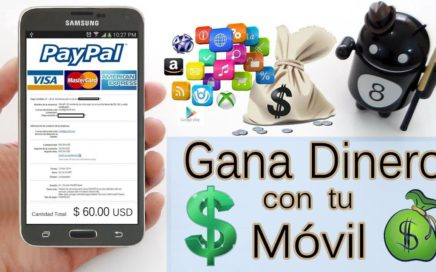 5 Aplicaciones para Ganar Dinero Gratis a Paypal con el Móvil | Gokustian