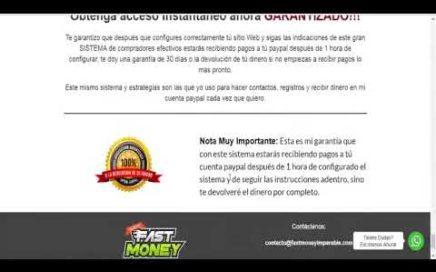 como ganar dinero por internet con Fastmoney Imparable