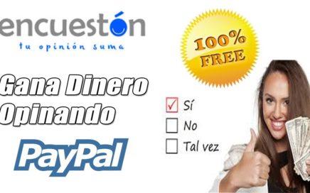 Encueston, Gana Dinero a Paypal con Encuestas Remuneradas (2€ Gratis)   Gokustian