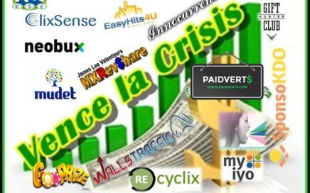Gana Dinero Gratis  con mi canal y Derrota la Crisis (Salario Extra Online)