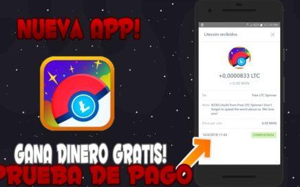 """Gana Dinero Sin Limite Desde Tu Android """"Free Litecoin Spinner"""" Prueba De Pago // AlanDroid"""