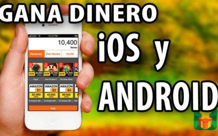Ganar  DINERO REAL usando smartpone iPhone tablet Android 2018