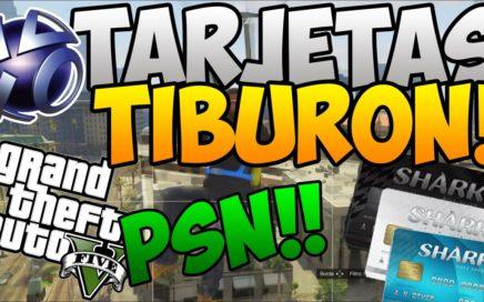 GTA 5 ONLINE - DINERO INFINITO - TARJETAS TIBURON GRATIS /PSN/XBOX- 1.26 / 1.28