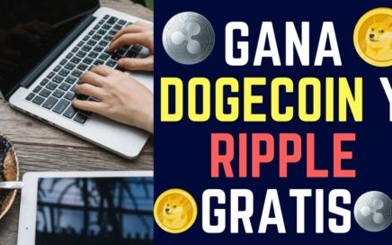 LAS MEJORES FAUCET PARA GANAR DOGECOIN Y RIPPLE GRATIS 2018 | Dinero Gratis por Internet