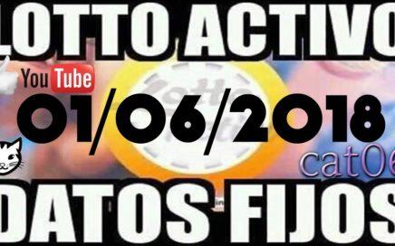 LOTTO ACTIVO DATOS FIJOS PARA GANAR  01/06/2018 cat06