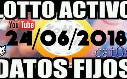 LOTTO ACTIVO DATOS FIJOS PARA GANAR  24/06/2018 cat06