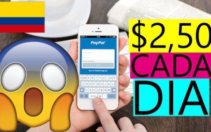 Mejor APP para Ganar Dinero PayPal- Demostrado 2.50 DOLARES AL Dia