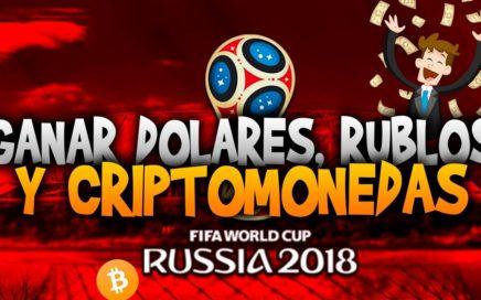 Mundial Rusia 2018 - Como ganar dolares y Criptomonedas Con apuestas en el mundial Rusia 2018
