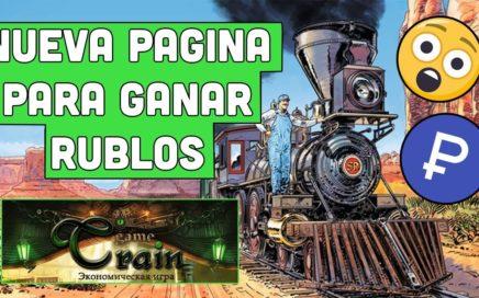 Nueva Pagina Para Ganar Rublos Train-Game Pagando a Payeer