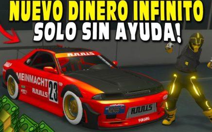 NUEVO! TRUCO DINERO INFINITO SOLO SIN AYUDA BRUTAL EL MEJOR METODO! GTA 5 ONLINE 1.43