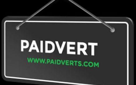 PaidVerts gana dinero online ¿Que es y como funciona? 2015