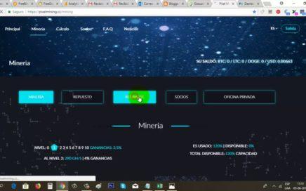 PixelMining Paga Junio 2018 (Pago Instantáneo a Payeer)   Gokustian