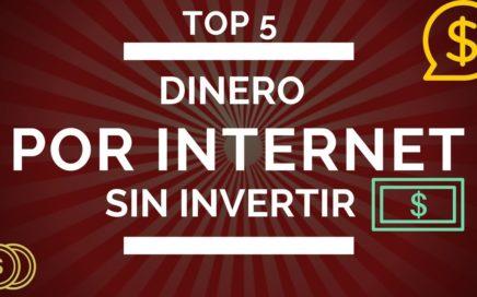 TOP 5 PAGINAS PARA GANAR DINERO POR INTERNET || SIN INVERTIR || 2018 COLOMBIA