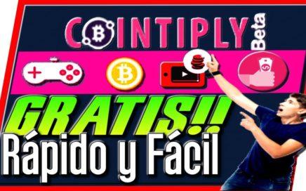 Cointiply Gana Bitcoins GRATIS Rápido y Fácil [ Tengo Dinero ]