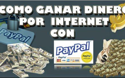 Como ganar $ 10 dolares al día por Paypal como mínimo