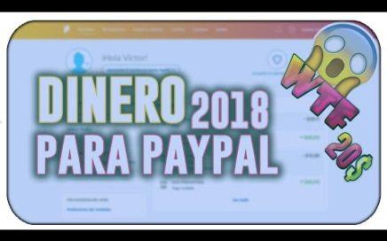 COMO GANAR 50 DOLARES DIARIOS PARA PAYPAL | ABRIL 2018 + COMPROBANTE DE PAGO