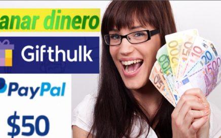 CÓMO GANAR $50,00 A PAYPAL SIN INVERTIR - 3 MEJORES PÁGINAS + PRUEBAS DE PAGO
