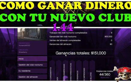 COMO GANAR DINERO CON NEGOCIO CLUB NOCTURNO DEL NUEVO DLC DE GTA 5 ONLINE 1.44