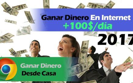 Como GANAR DINERO EN INTERNET - Ganar Dinero En Google Adsense 2017 [+100$/DIA]
