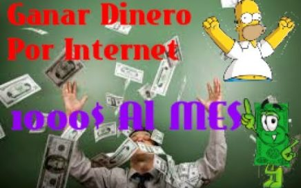 Como Ganar Dinero Facil? 2017 100%REAL!!!!! NO FAKE LAS MEJORES PAGINAS PARA GANAR DINERO?