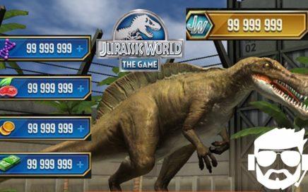 Como Obtener recursos  en Jurassic World The Game