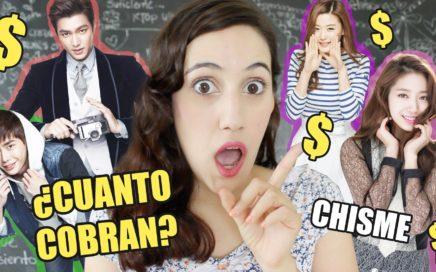¿Cuanto Dinero Ganan los Actores de k-Dramas?   Hablemos de Doramas