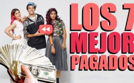 Ellos son los 7 youtubers MÁS RICOS de México este 2017