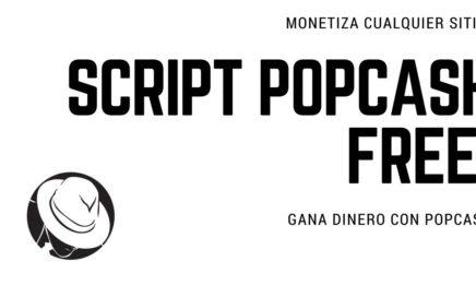 Gana dinero con PopCash Script Free