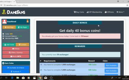 Gana dinero con tus redes sociales! mínimo de pago de 5 dolares!