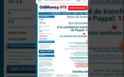 GANA DINERO POR INTERNET Y TRANFERILO A PAYPAL!!