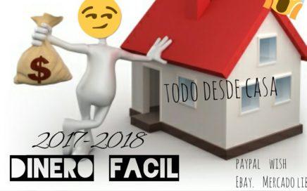 GANA DINERO SENTADO EN TU PC HASTA $200 DIARIOS 2017-2018