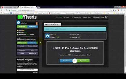 Gana Dinero viendo videos de youtube con Ytvers