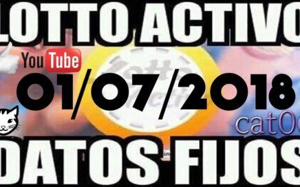 LOTTO ACTIVO DATOS FIJOS PARA GANAR  01/07/2018 cat06