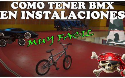 NUEVO TRUCO GTA 5 ONLINE - COMO METER BMX EN LAS  INSTALACIÓNES *FACIL*