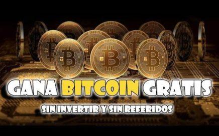 Paginas para Ganar Dinero con BITCOIN gratis sin invertir sin referidos