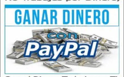 Aplicaciones para ganar dinero en paypal