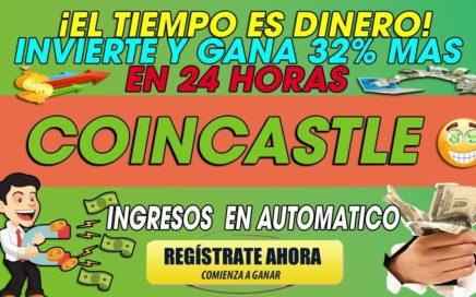 CoinCastle| Invierte Y Gana 32% Mas en en 24 horas| Oportunidad Para Multiplicar tus ingresos| 2018