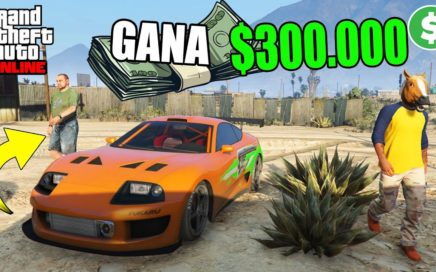 COMO GANAR $300.000 DE MANERA FACIL!!! GTA 5 ONLINE - GTA V ONLINE