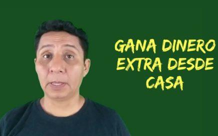 Cómo puedes tener un ingreso extra en internet   dinero extra desde casa